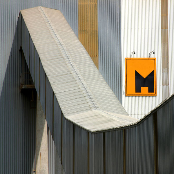 Bilder aus der Zementfabrik