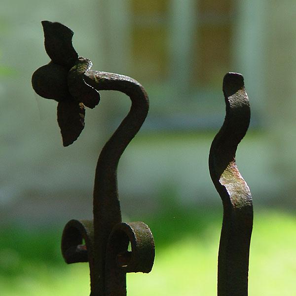 Gartenzaun Detail