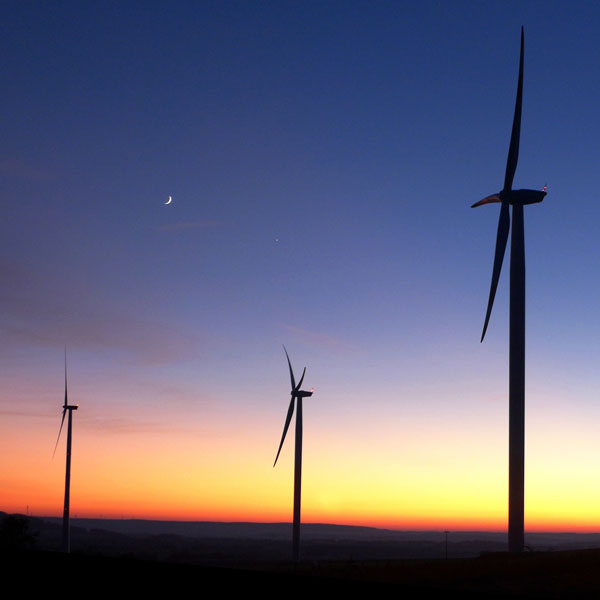 Windless wind turbines