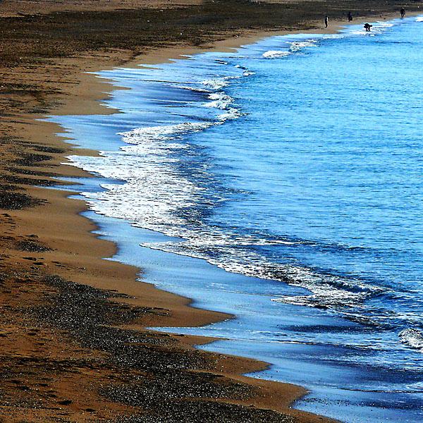 Sandy seeshore