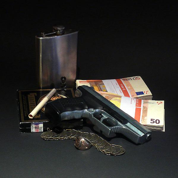 Stilleben mit fremdem Geld